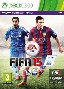 FIFA 15 Xbox 360 Cover Art