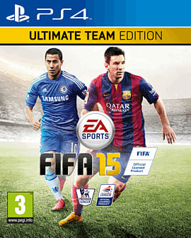 FIFA 15 Ultimate Team Edition PlayStation 4 Cover Art