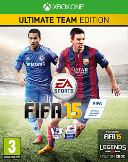 FIFA 15 Ultimate Team Edition Xbox One Cover Art