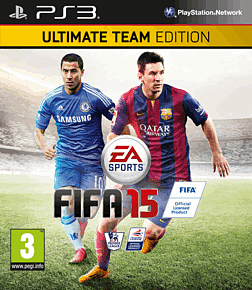 FIFA 15 Ultimate Team Edition PlayStation 3 Cover Art