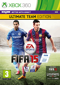 FIFA 15 Ultimate Team Edition Xbox 360 Cover Art