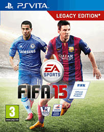 FIFA 15 PS Vita Cover Art