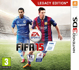 FIFA 15 3DS Cover Art