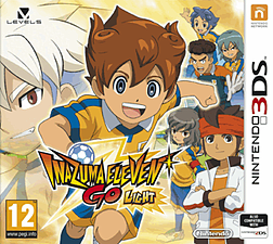 Inazuma Eleven GO: Light 3DS Cover Art