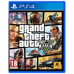 Grand Theft Auto V PlayStation 4 Cover Art
