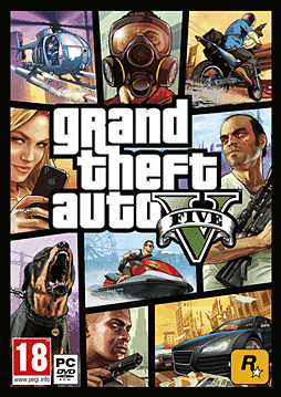 Grand Theft Auto V PC Games Cover Art
