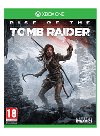 Rise of the Tomb Raider Xbox One Cover Art
