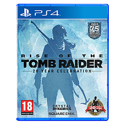 Rise of the Tomb Raider PlayStation 4 Cover Art