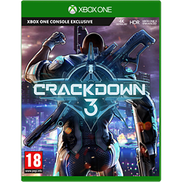 Crackdown 3 Xbox One Cover Art