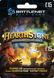 Hearthstone £15 Gift Card Gifts