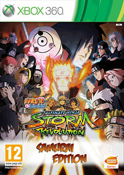 Naruto Ultimate Ninja Storm Revolution: Samurai Edition - Only at GAME Xbox 360