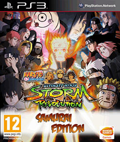 Naruto Ultimate Ninja Storm Revolution: Samurai Edition - Only at GAME PlayStation 3