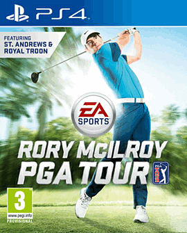 PS4 EA SPORTS RORY MCI PGA TR PlayStation 4 Cover Art
