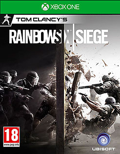 Tom Clancy's Rainbow Six: Siege Xbox One Cover Art