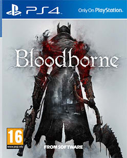 Bloodborne PlayStation 4 Cover Art