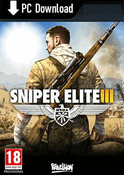 Sniper Elite III PC Games Cover Art