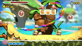 Kirby & the Rainbow Paintbrush screen shot 10