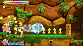 Kirby & the Rainbow Paintbrush screen shot 1