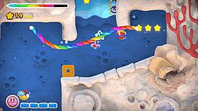 Kirby & the Rainbow Paintbrush screen shot 3