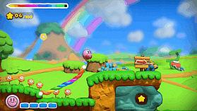 Kirby & the Rainbow Paintbrush screen shot 4