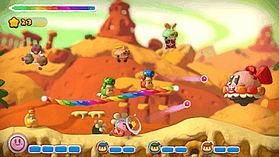 Kirby & the Rainbow Paintbrush screen shot 5