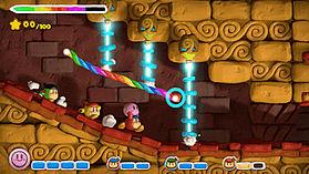 Kirby & the Rainbow Paintbrush screen shot 6