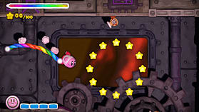 Kirby & the Rainbow Paintbrush screen shot 7
