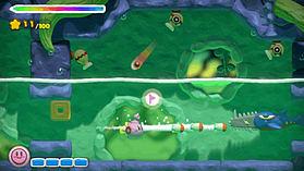 Kirby & the Rainbow Paintbrush screen shot 8