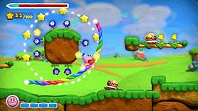 Kirby & the Rainbow Paintbrush screen shot 9