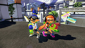 Splatoon screen shot 2