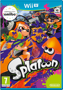 Splatoon Wii U Cover Art