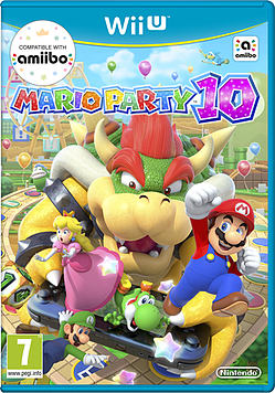 Mario Party 10 Wii U Cover Art