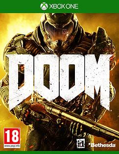 DOOM Xbox One Cover Art