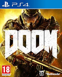 DOOM PlayStation 4 Cover Art