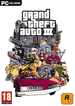 Grand Theft Auto III PC Games Cover Art