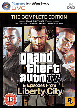 Grand Theft Auto IV: The Complete Edition PC Games Cover Art