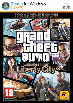 Grand Theft Auto: Episodes from Liberty City PC Games Cover Art