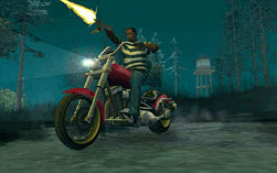 Grand Theft Auto: San Andreas screen shot 2
