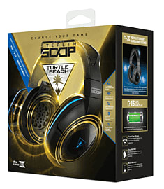 Turtle Beach Stealth 500P Wireless Headset for PS4 & PS3 Accessories