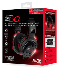 Turtle Beach Z60 7.1 Channel Surround Sound for PC & Mac Accessories
