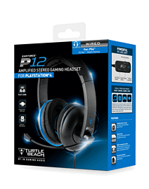 Turtle Beach P12 Gaming Headset for PS4 Accessories