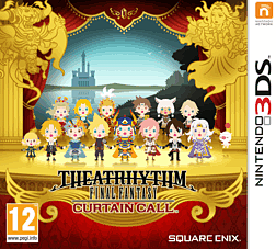 Theatrhythm Final Fantasy: Curtain Call 3DS Cover Art