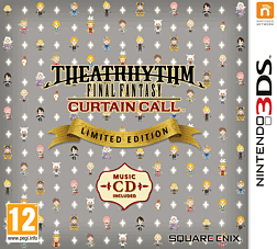 Theatrhythm Final Fantasy: Curtain Call Limited Edition 3DS Cover Art