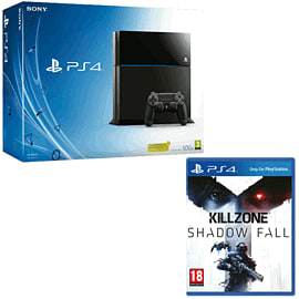Refurbished PlayStation 4 and Killzone: Shadow Fall PlayStation-4
