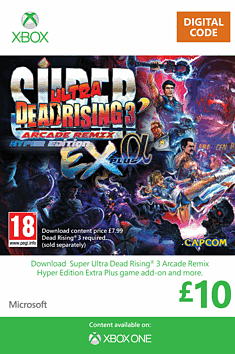 Super Ultra Dead Rising 3 Arcade Remix Hyper Edition Extra Plus Alpha Xbox Live Cover Art