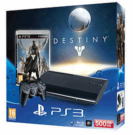 PlayStation 3 with Destiny + Vanguard PlayStation-3