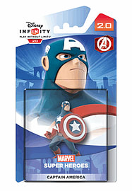 Captain America - Disney INFINITY 2.0 Character Toys and Gadgets