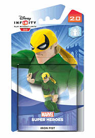 Iron Fist - Disney INFINITY 2.0 Character Toys and Gadgets Cover Art