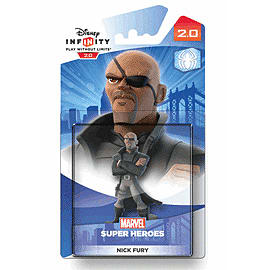 Nick Fury - Disney INFINITY 2.0 Character Toys and Gadgets Cover Art