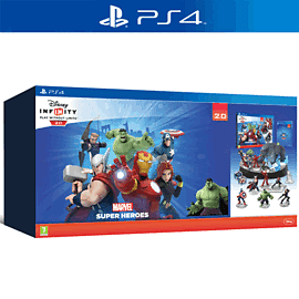 Disney INFINITY 2.0 Marvel Super Heroes Collector's Edition PlayStation 4 Cover Art